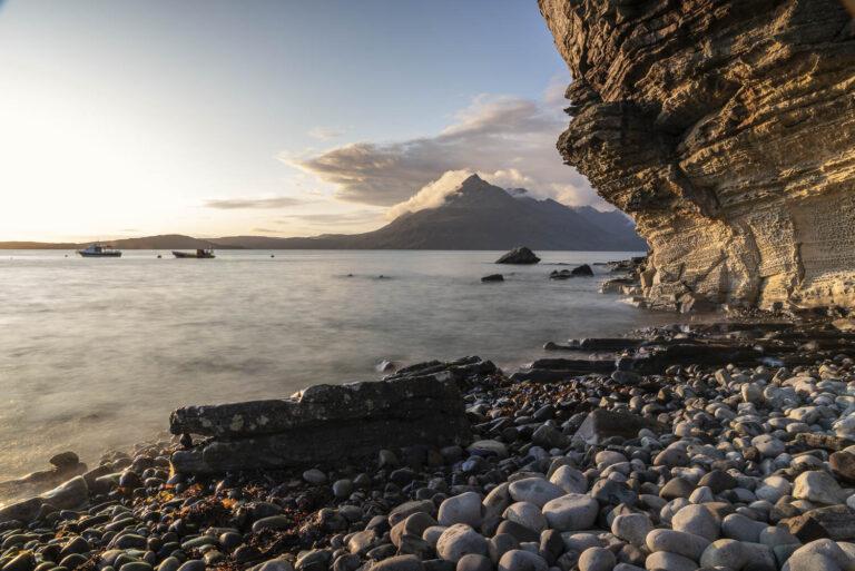 Schottland Elgol zur Goldenen Stunde