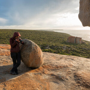 Australien Remarkable Rocks Steffi