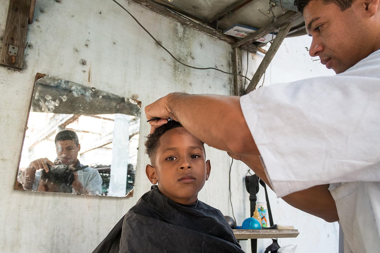 Friseurtermin in Südamerika